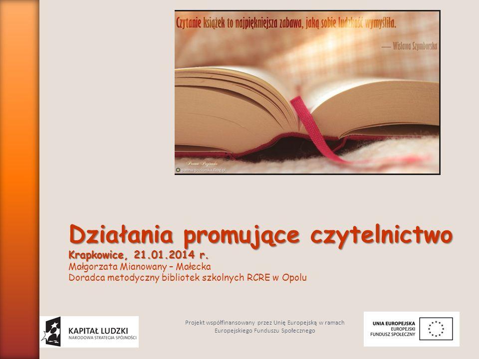 Zaplanowane działania: Po pierwsze mówi się o wydawaniu wartościowej literatury oraz magazynów kulturalnych.