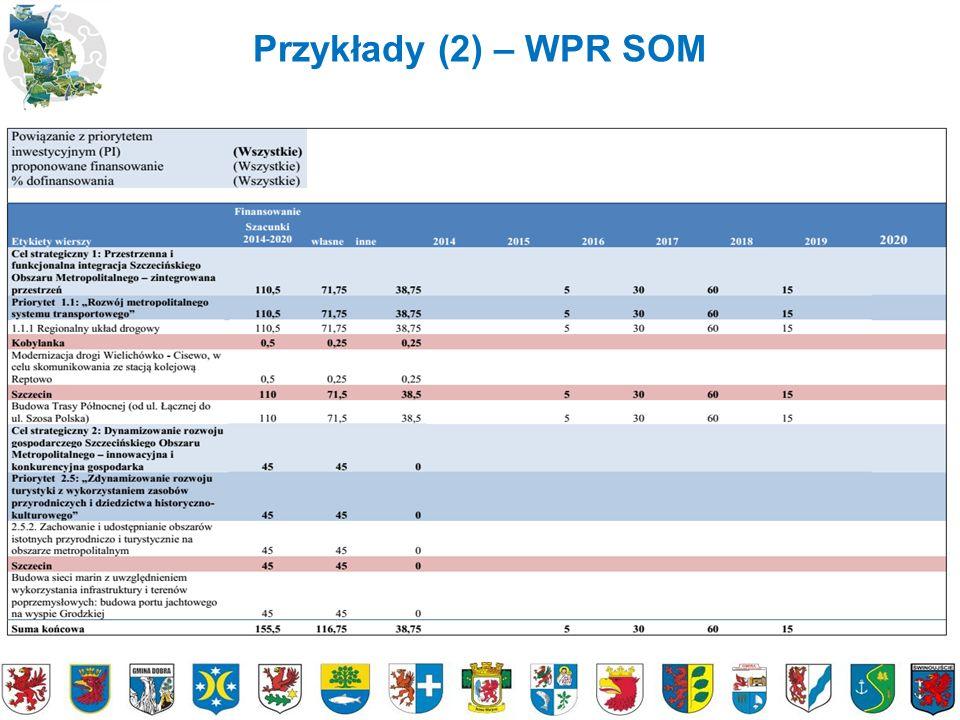 Przykłady (3) - Portale SOM www.zit-som.szczecin.plwww.pgn-som.szczecin.pl www.transport-som.szczecin.pl www.som.szczecin.pl