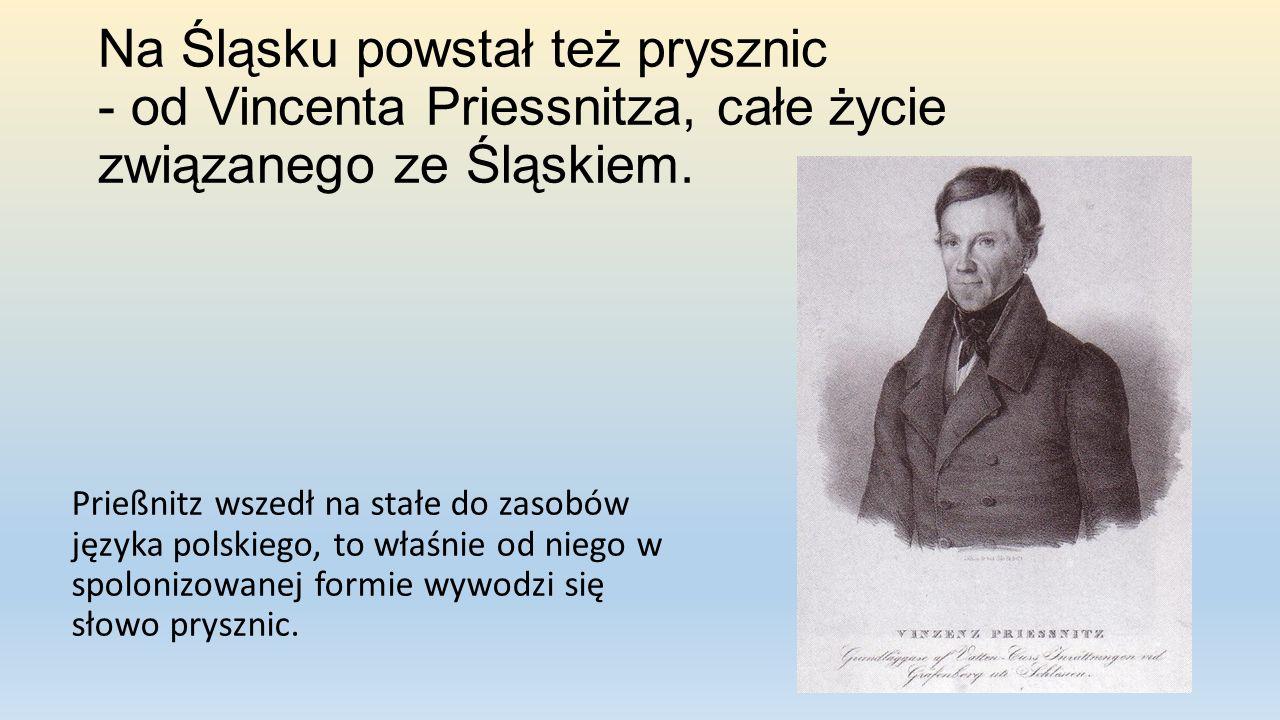 Na Śląsku powstał też prysznic - od Vincenta Priessnitza, całe życie związanego ze Śląskiem.