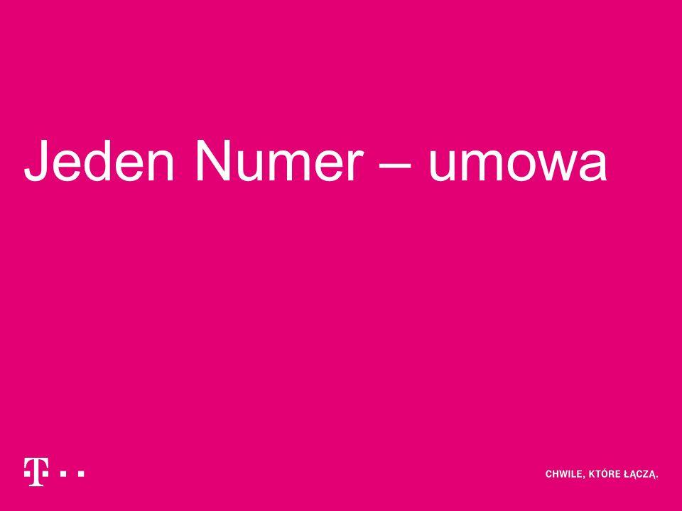 Jeden Numer – umowa
