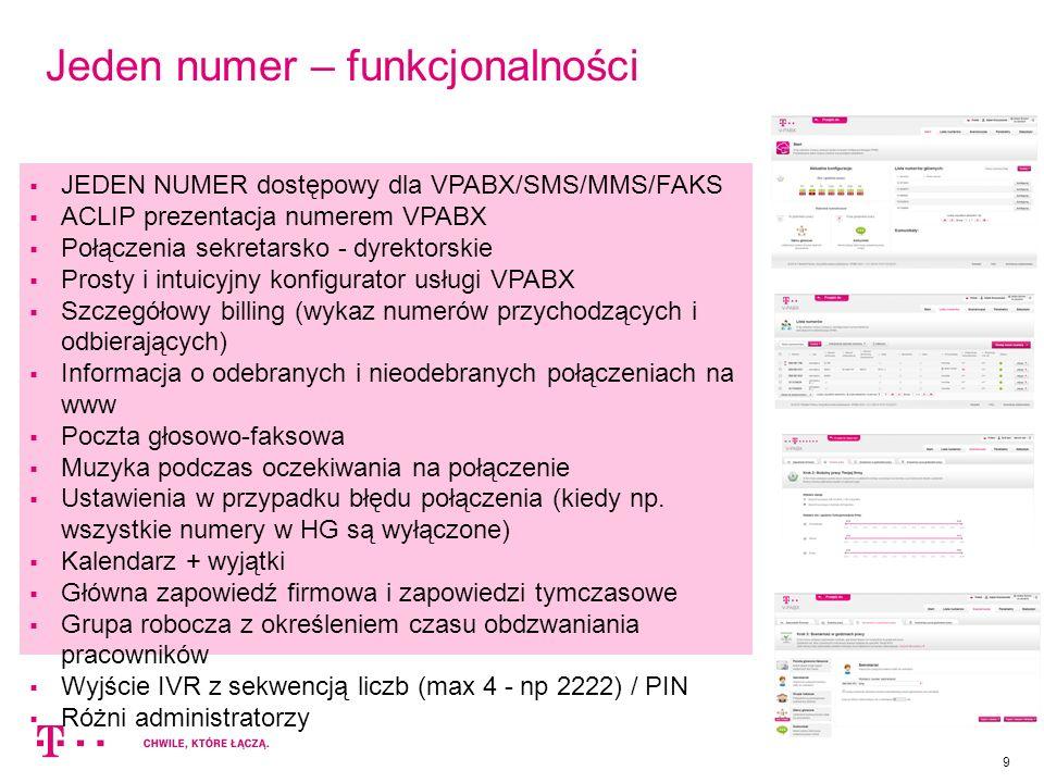 10 Jeden numer – nowe funkcjonalności  Szereg zmian wizualnych w aplikacji (np.