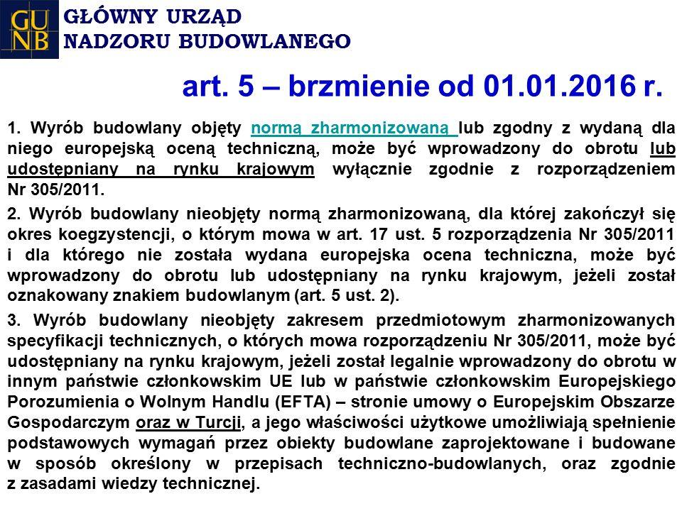 art. 5 – brzmienie od 01.01.2016 r. 1.