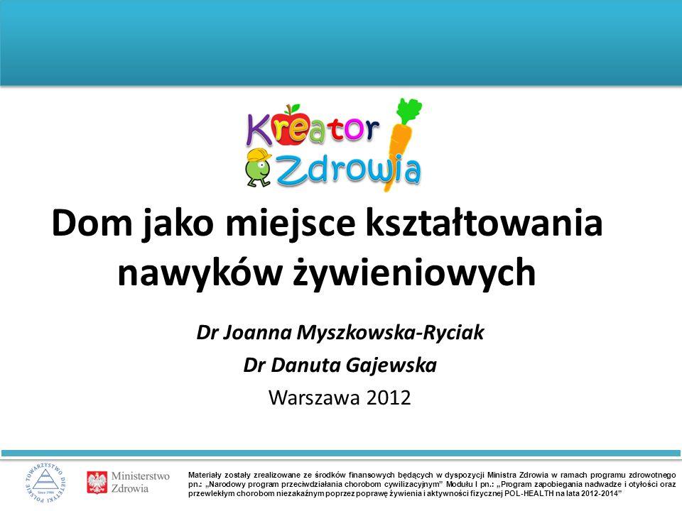 J.Myszkowska-Ryciak, D.