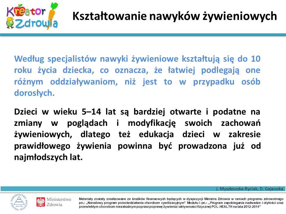 """Materiały zostały zrealizowane ze środków finansowych będących w dyspozycji Ministra Zdrowia w ramach programu zdrowotnego pn.: """"Narodowy program przeciwdziałania chorobom cywilizacyjnym Modułu I pn.: """"Program zapobiegania nadwadze i otyłości oraz przewlekłym chorobom niezakaźnym poprzez poprawę żywienia i aktywności fizycznej POL-HEALTH na lata 2012-2014 Najważniejsze """"postulaty 5."""