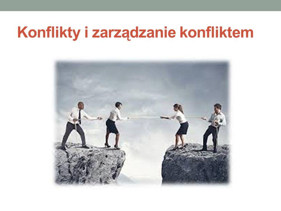 Konflikty i zarządzanie konfliktem