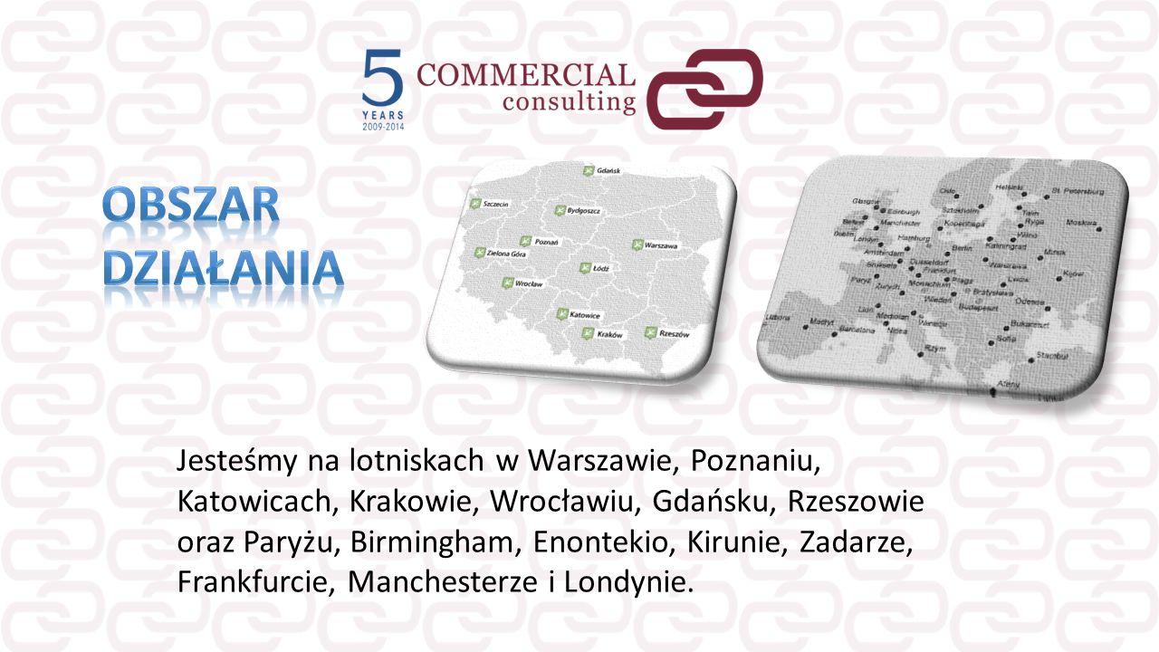 Jesteśmy na lotniskach w Warszawie, Poznaniu, Katowicach, Krakowie, Wrocławiu, Gdańsku, Rzeszowie oraz Paryżu, Birmingham, Enontekio, Kirunie, Zadarze
