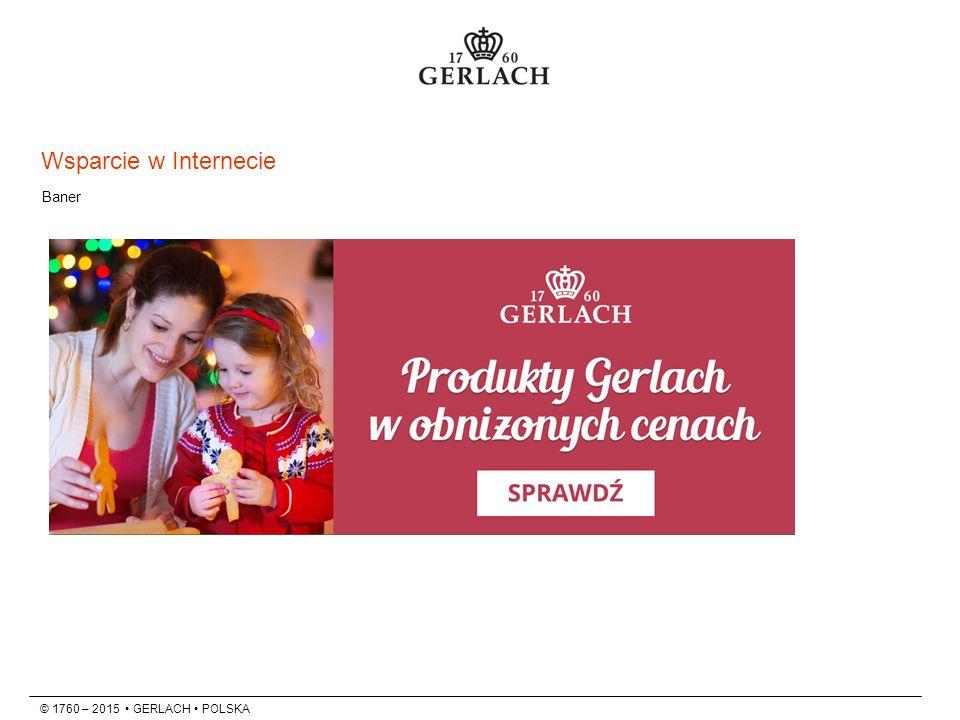 © 1760 – 2015 GERLACH POLSKA Baner Wsparcie w Internecie