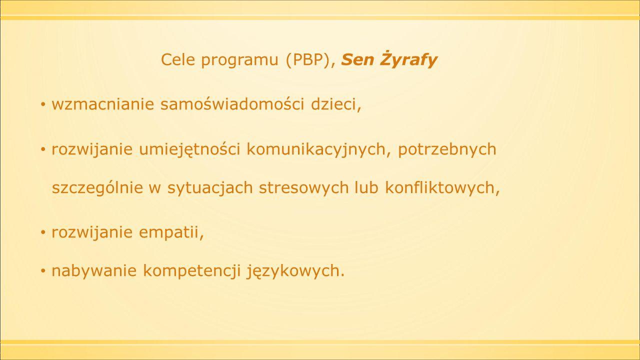 Współdziałanie Przedszkola i Rodziców istotą programu Sen Żyrafy  Dzieci  Nauczyciele  Rodzice.