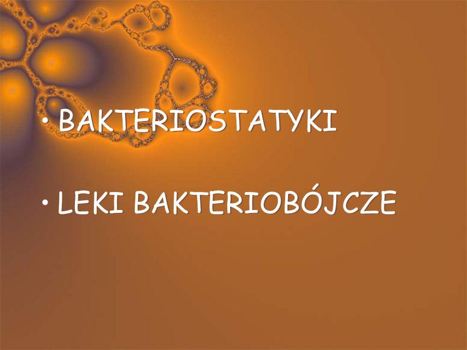 Interpretacja badania mikrobiologicznego Wrażliwy Średnio wrażliwy Oporny MIC (najmniejsze stężenie hamujące) Wrażliwy Średnio wrażliwy Oporny MIC (na