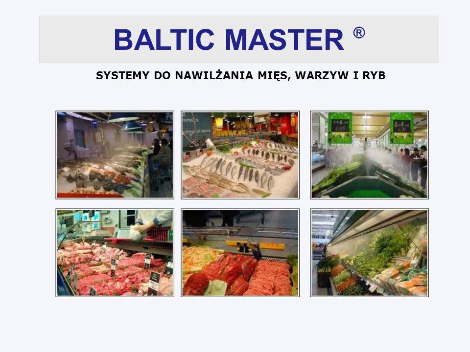 BALTIC MASTER ® SYSTEMY DO NAWILŻANIA MIĘS, WARZYW I RYB