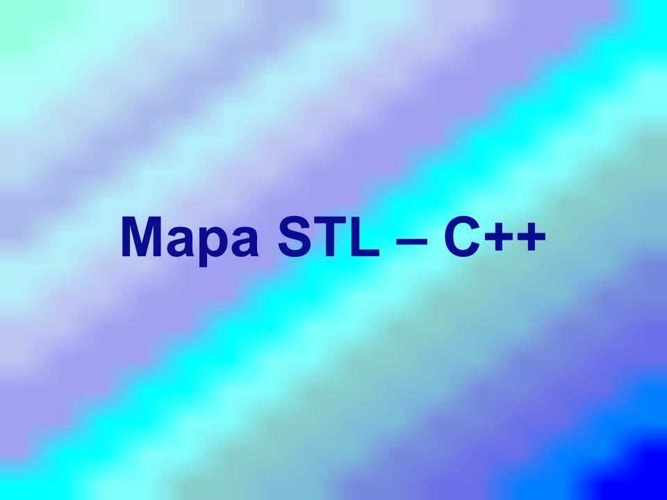 Mapa STL – C++