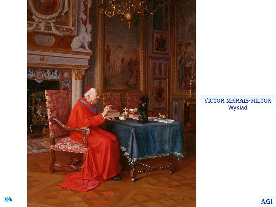 23 Victor Marais-Milton Kardynał czytający rozprawę naukową Agi