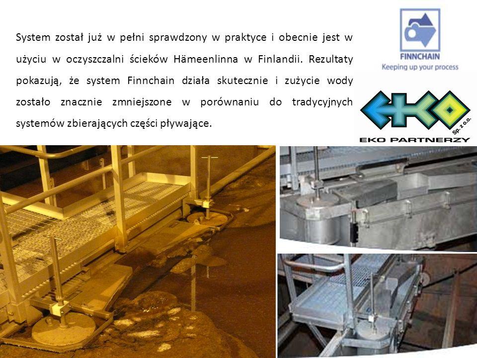 ZALETY: eksploatacja i konserwacja Brak zasilania: - osad jest usuwany przez nieustanny przepływ wody.