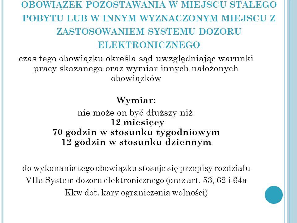 O BOWIĄZKI Z ART.