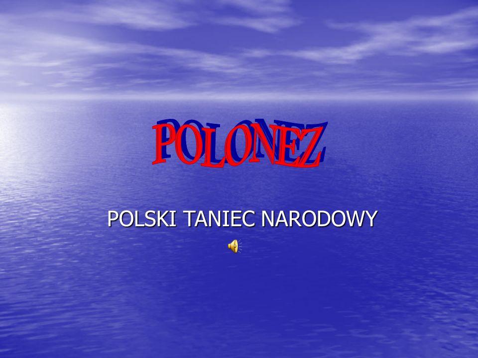 Polonez w muzyce W formie stylizowanej polonez jako styl muzyczny pojawił się już w baroku.