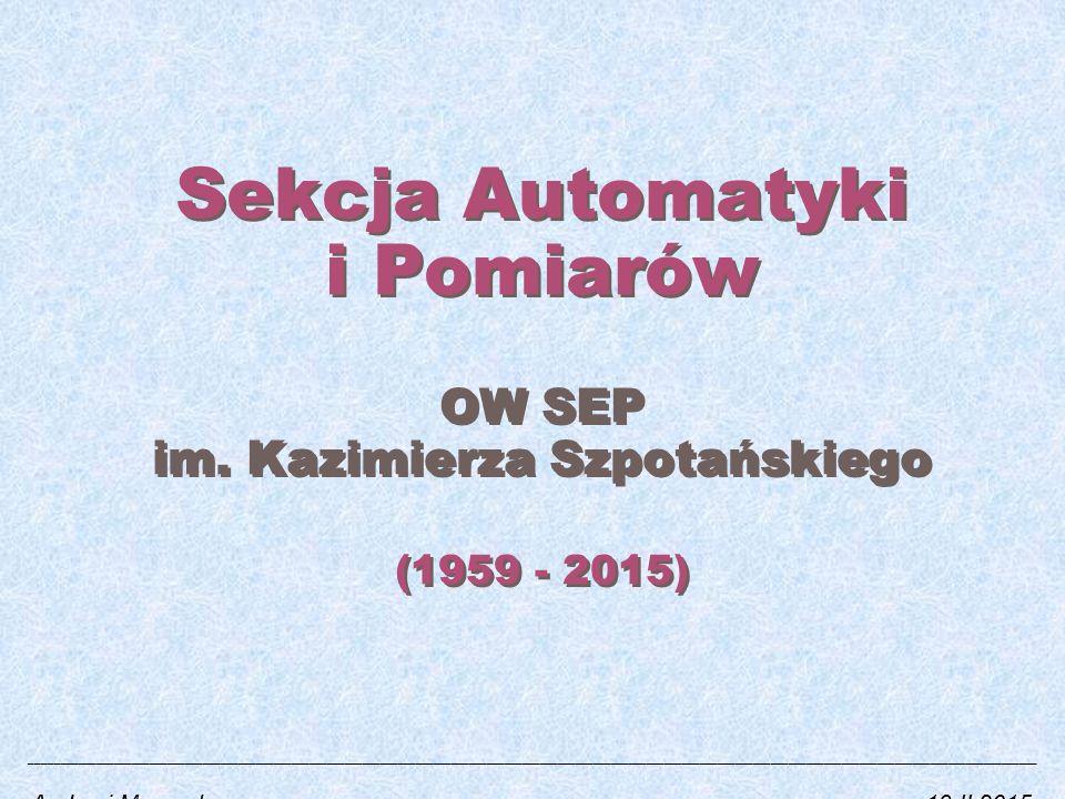 Sekcja Automatyki i Pomiarów OW SEP im.