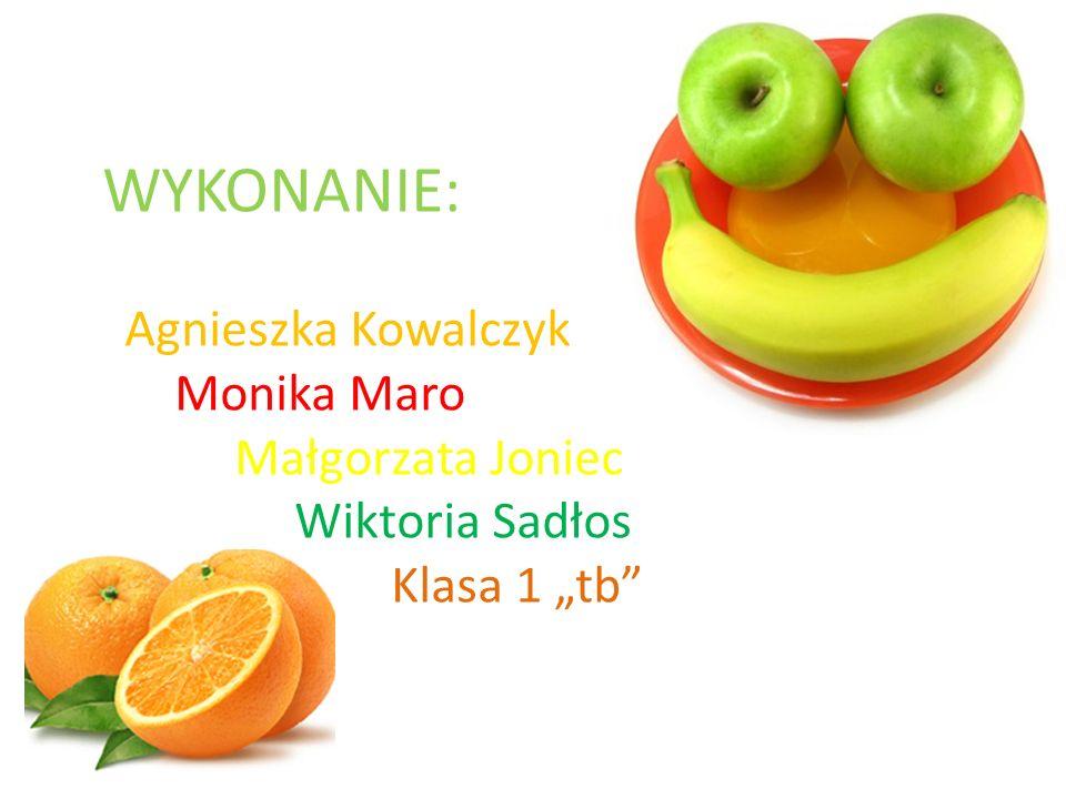 """WYKONANIE: Agnieszka Kowalczyk Monika Maro Małgorzata Joniec Wiktoria Sadłos Klasa 1 """"tb"""
