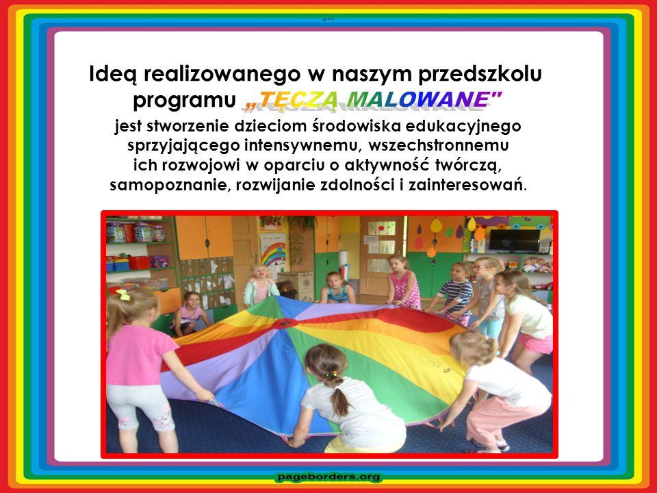 jest stworzenie dzieciom środowiska edukacyjnego sprzyjającego intensywnemu, wszechstronnemu ich rozwojowi w oparciu o aktywność twórczą, samopoznanie, rozwijanie zdolności i zainteresowań.