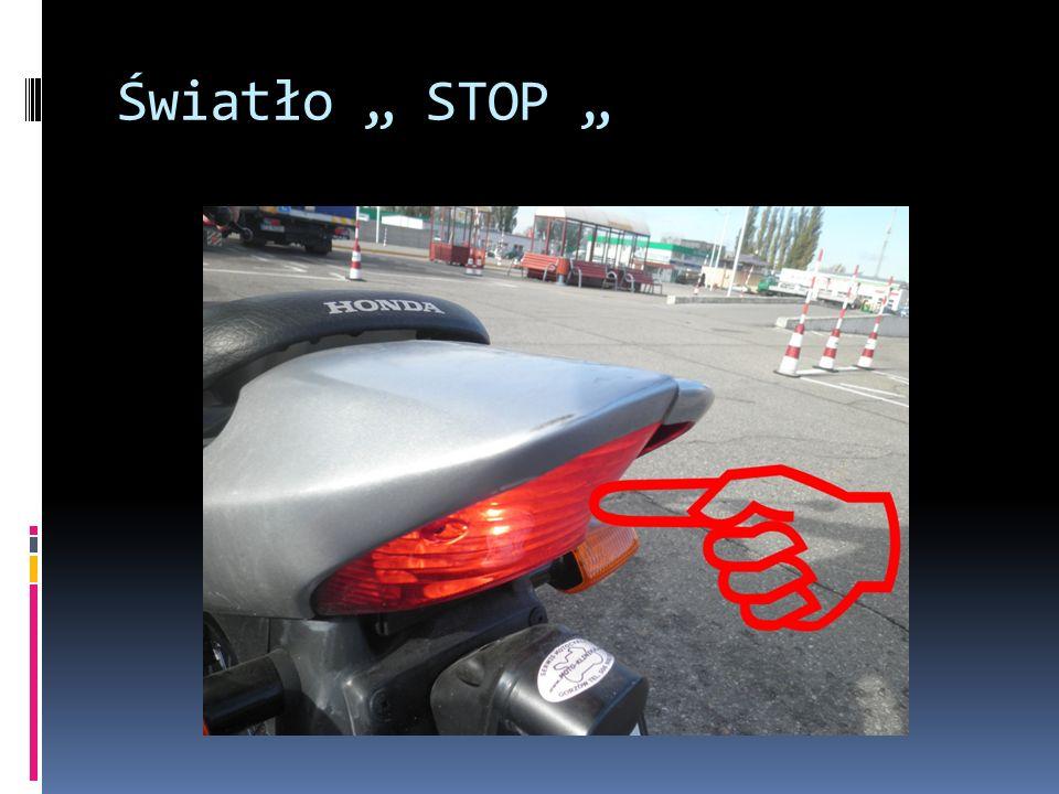 """Światło """" STOP """""""