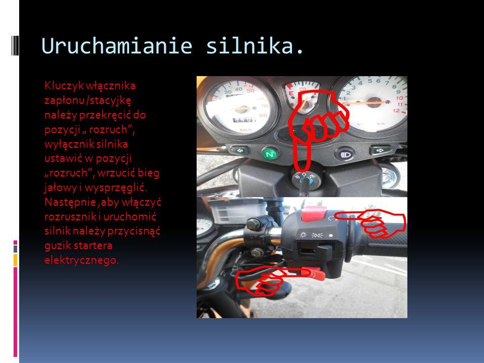 Uruchamianie silnika.