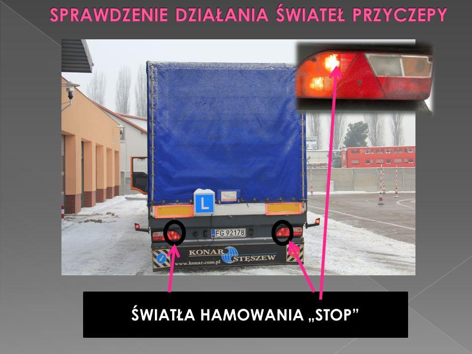 """ŚWIATŁA HAMOWANIA """"STOP"""""""