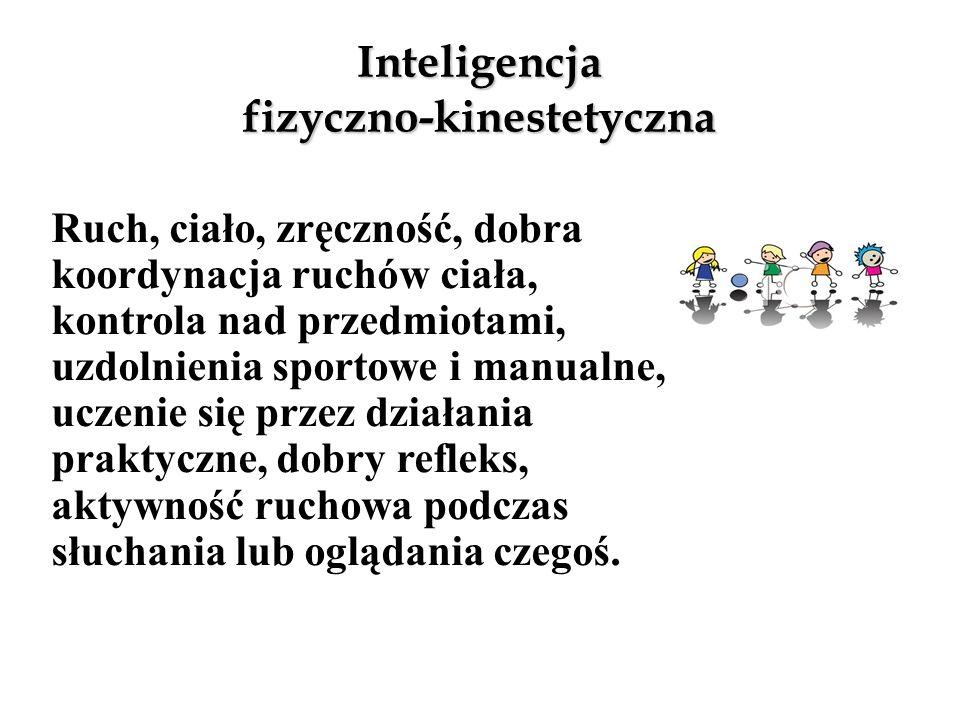 Inteligencja logiczno-matematyczna Logika, liczby, matematyka, myślenie naukowe, umiejętność liczenia, kalkulowania, logicznego i analitycznego myślen