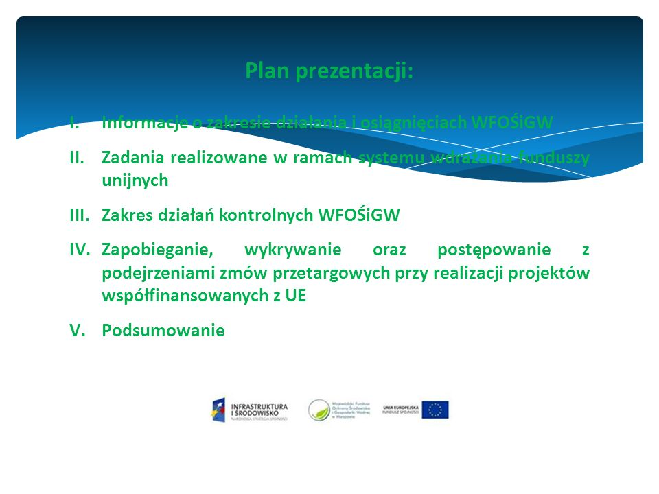 www.wfosigw.pl Podstawowe formy naboru wniosków o udzielenie dofinansowania ze środków WFOŚiGW w Warszawie: Konkursy (w 2015 r.