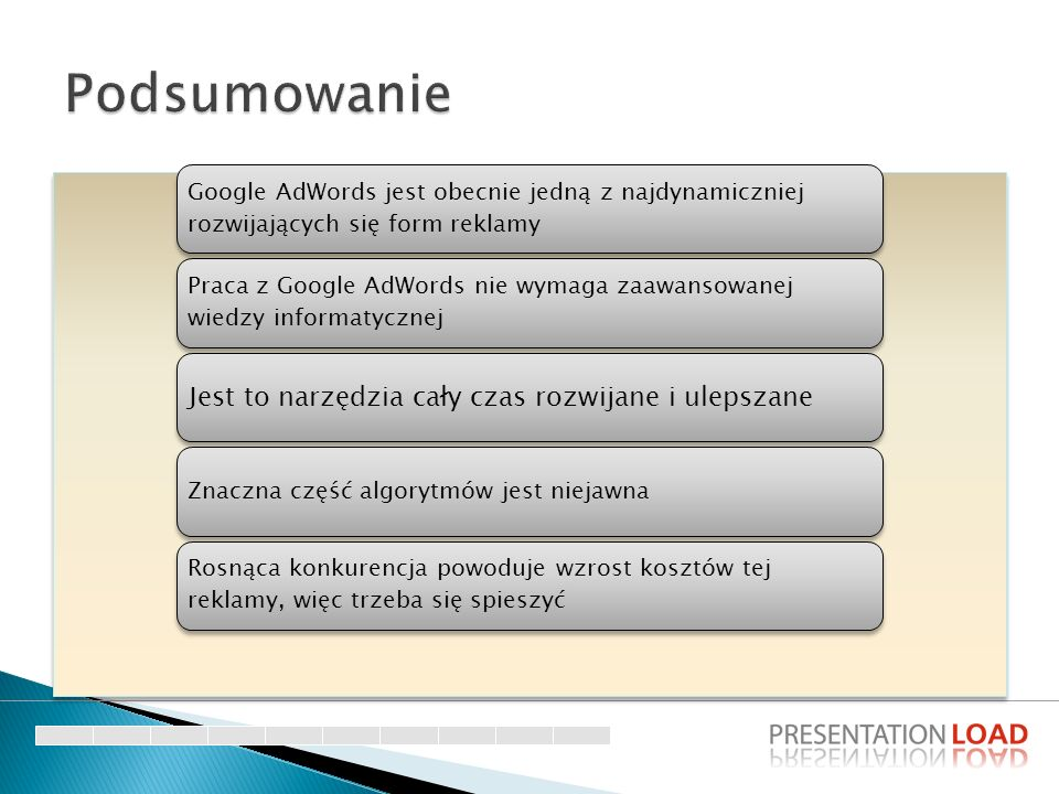 Google AdWords jest obecnie jedną z najdynamiczniej rozwijających się form reklamy Praca z Google AdWords nie wymaga zaawansowanej wiedzy informatyczn