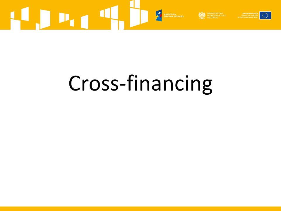Cross-financing