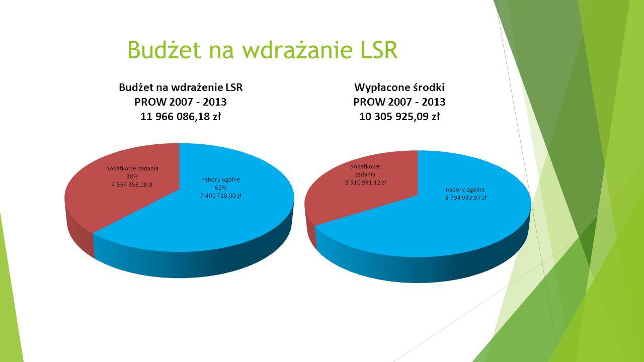 Budżet na wdrażanie LSR