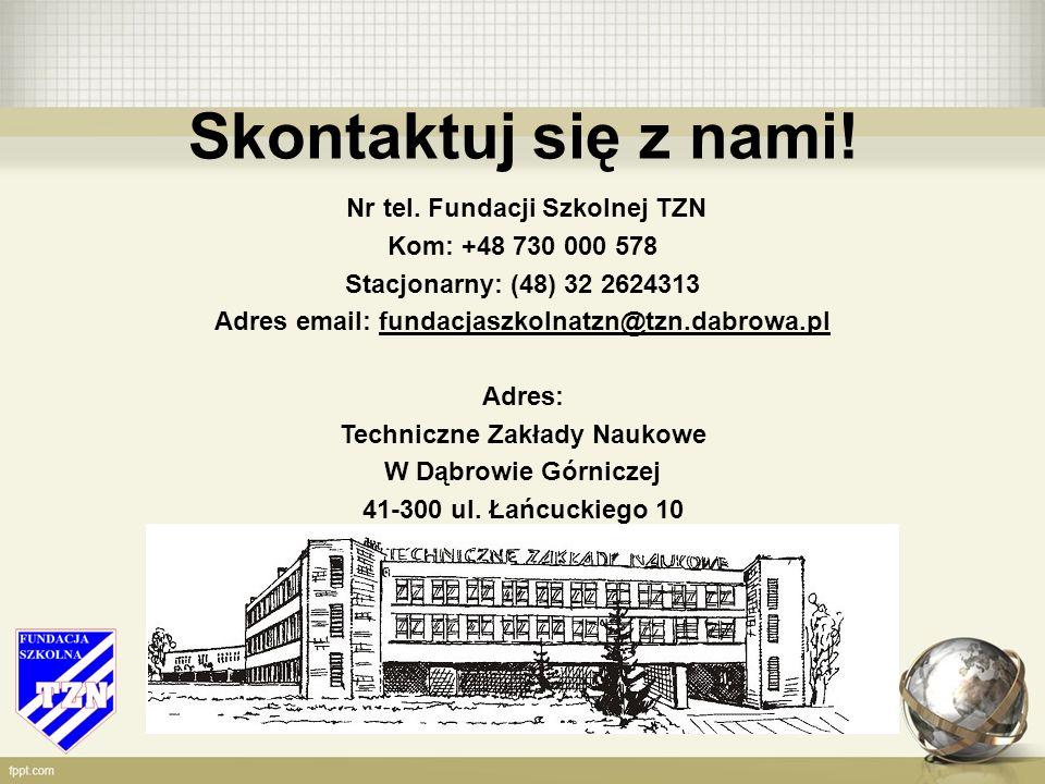 Skontaktuj się z nami. Nr tel.