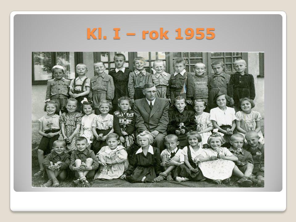 Kl. I – rok 1955