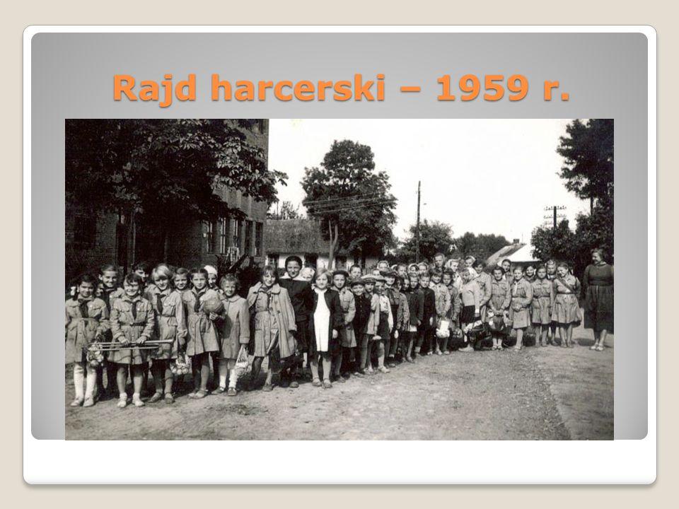 Rajd harcerski – 1959 r.