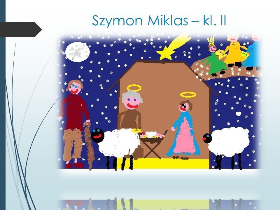 Szymon Miklas – kl. II