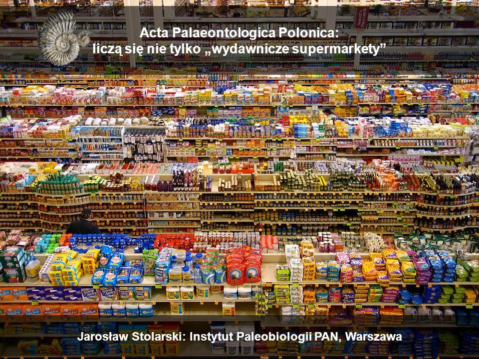 """Jarosław Stolarski: Instytut Paleobiologii PAN, Warszawa Acta Palaeontologica Polonica: liczą się nie tylko """"wydawnicze supermarkety"""