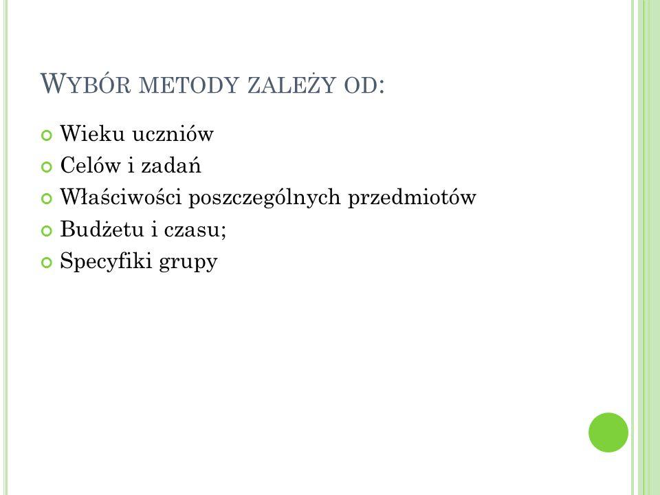 P IRAMIDA ZAPAMIĘTYWANIA (D ALE ) Źródło: e-mentor.edu.pl