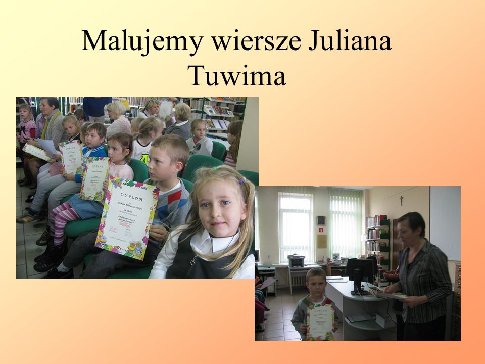 Malujemy wiersze Juliana Tuwima