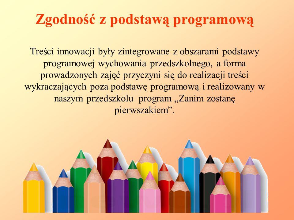 Na zajęcia uczęszczały dzieci uzdolnione, miały także do nich dostęp dzieci wykazujące zainteresowania plastyczne z grup 4, 5 i 6 – latków.