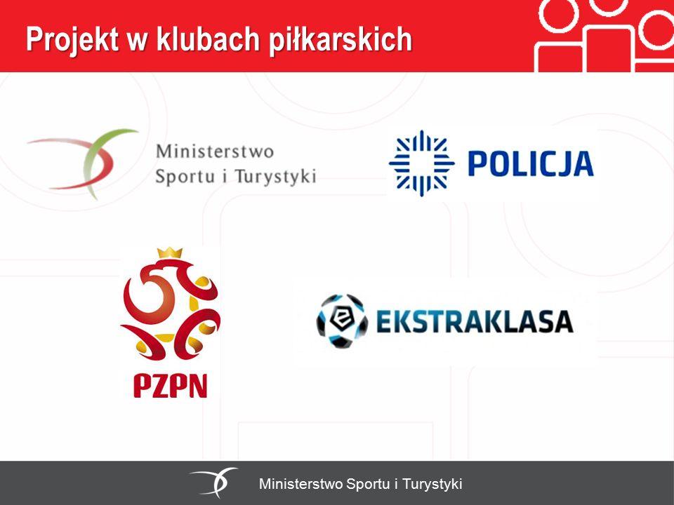 Projekt w klubach piłkarskich Ministerstwo Sportu i Turystyki