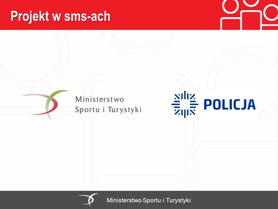 Projekt w sms-ach Ministerstwo Sportu i Turystyki