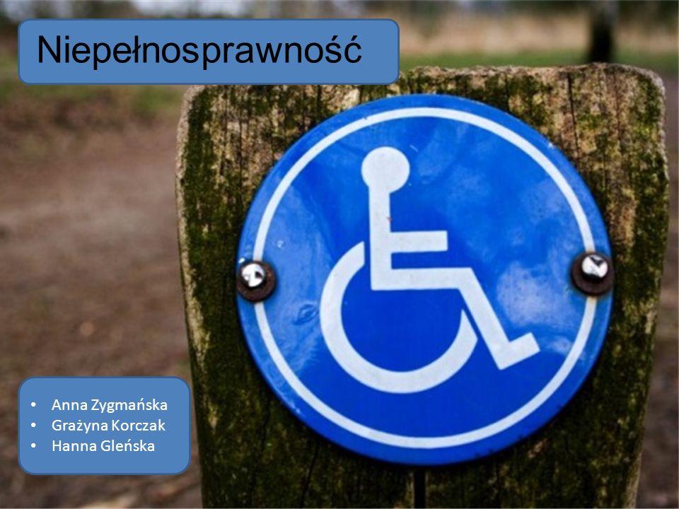 """Władysław Sanocki """"Człowiek niepełnosprawny jest pełnoprawnym członkiem ludzkiej wspólnoty"""". Niepełnosprawność Anna Zygmańska Grażyna Korczak Hanna Gl"""