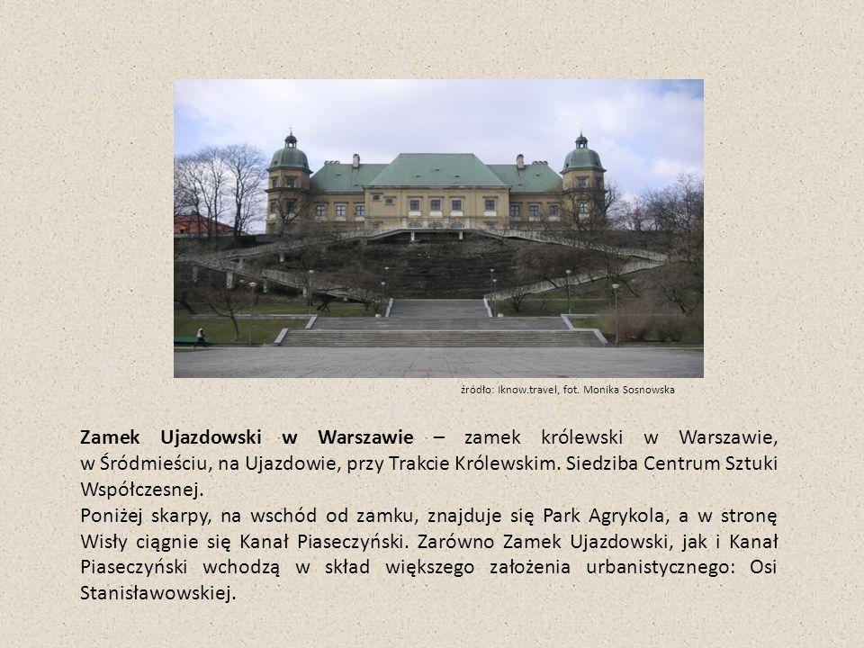 Szpital Ujazdowski Od 1809 r.w Zamku znajdował się szpital wojskowy.