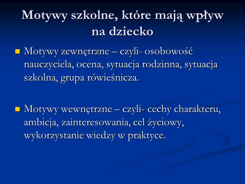 Przykłady rozmów z dzieckiem: Jak nie chwalić.Dziecko: Skończyłem prezentację na język polski.