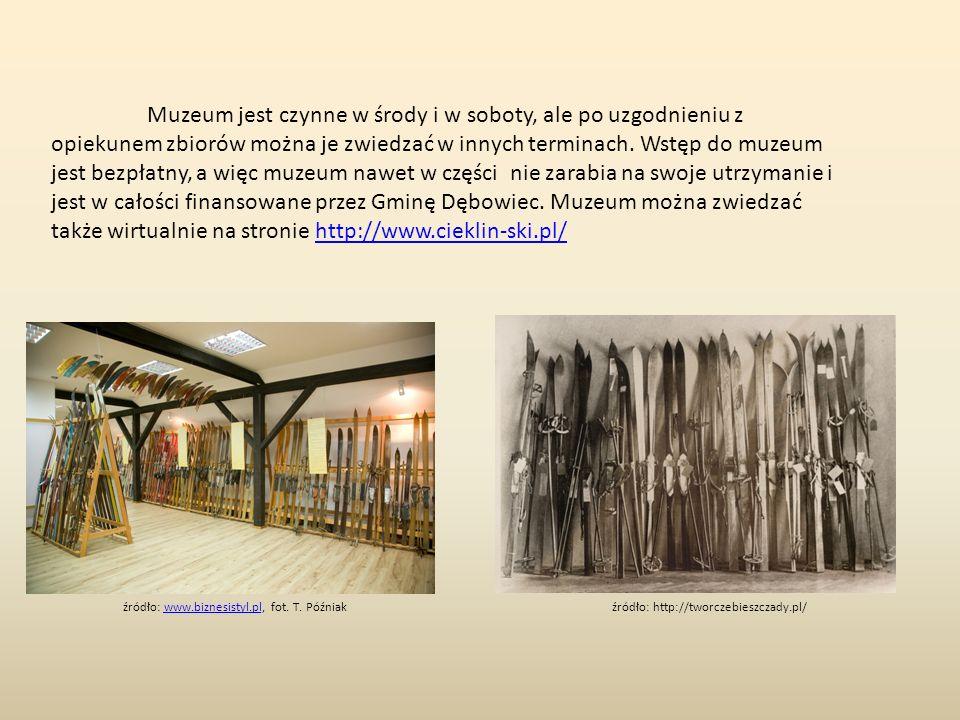 Muzeum jest czynne w środy i w soboty, ale po uzgodnieniu z opiekunem zbiorów można je zwiedzać w innych terminach.