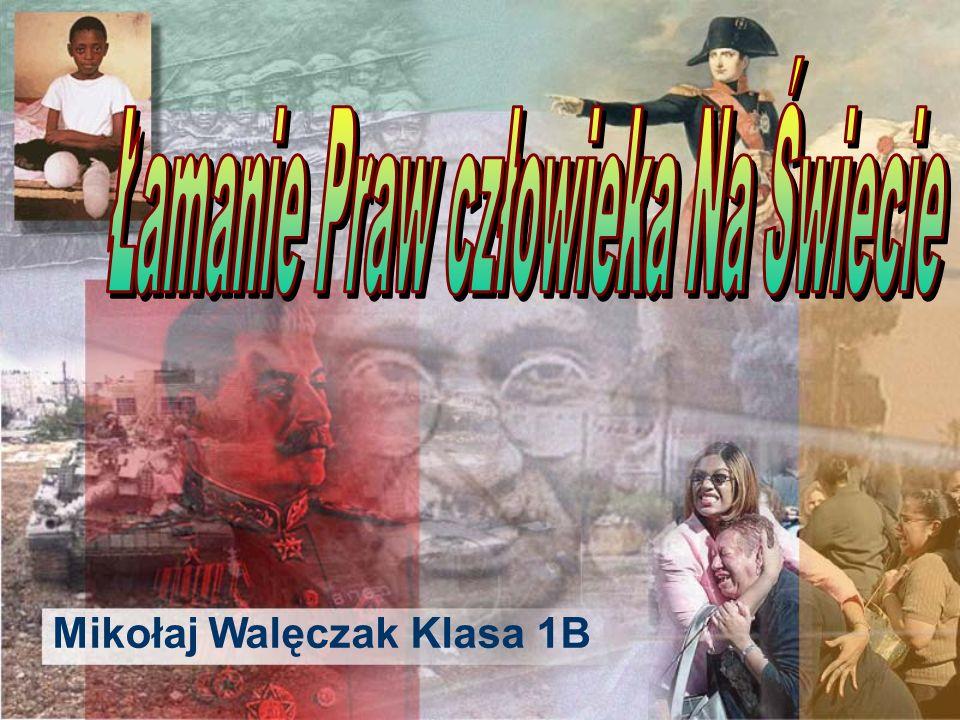 Mikołaj Walęczak Klasa 1B