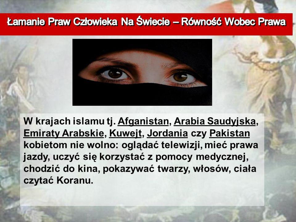 W krajach islamu tj.