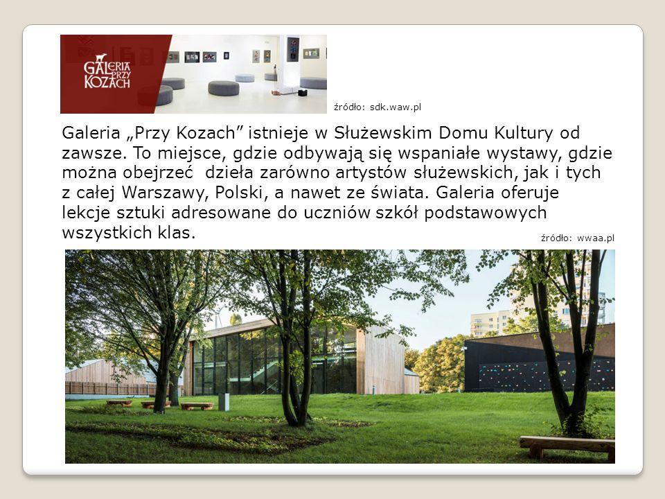 """Galeria """"Przy Kozach istnieje w Służewskim Domu Kultury od zawsze."""