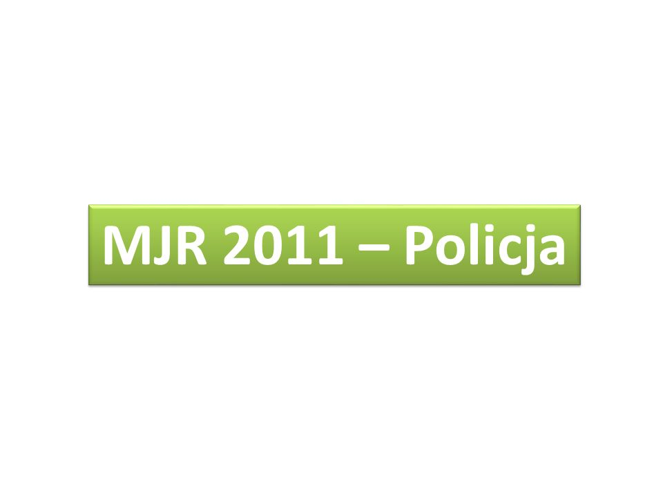 MJR 2011 – Policja