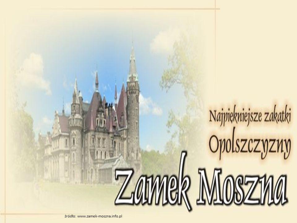 Pałac w Mosznej (niem.Schloß Moschen.