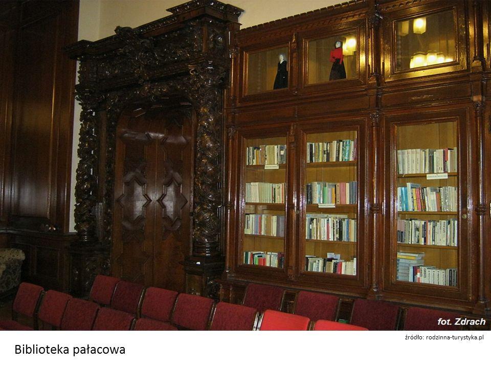 Biblioteka pałacowa źródło: rodzinna-turystyka.pl